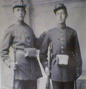 Mauser-Koka - Serbian cadets with Mauser-Koka