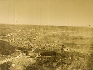 Timeline of Setúbal - Image: Setubal 1860