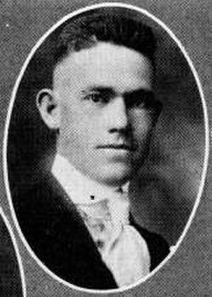 Sewell Jones - Jones pictured in Prickly Pear 1921, Abilene Christian yearbook