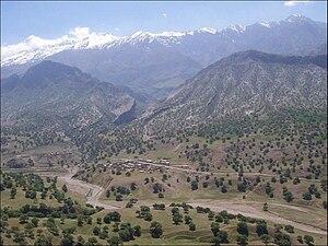 Shadegan, Kohgiluyeh and Boyer-Ahmad - Image: Shadegan mountains
