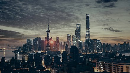 Shanghai is the largest city in China