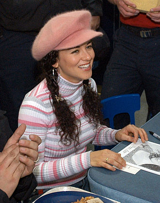 Sherrié Austin - Austin onboard the USS Enterprise in 2004