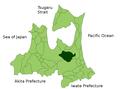 Shichinohe in Aomori Prefecture.png