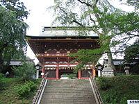 Shiogama Shrine romon.jpeg