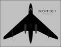 Short SB.1 top-view silhouette.png