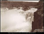 Shoshone Falls from the Southside. C.R. Savage.jpg