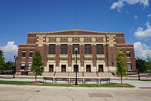 Shreveport Municipal Memorial Auditorium - Image: Shreveport September 2015 102 (Shreveport Municipal Auditorium)