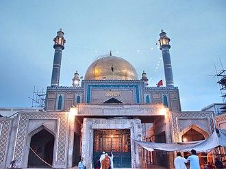Shrine of Lal Shahbaz Qalandar - The shrine of Lal Shahbaz Qalandar is one of Pakistan's most important Sufi shrines