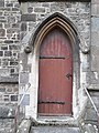 Side door of Parish Church of St Philip and St James, Ilfracombe, Sep 2017.jpg