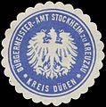 Siegelmarke Bürgermeister-Amt zu Kreuzau Kreis Düren W0382669.jpg