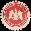 Siegelmarke Direction des Königlich Preussischen Medic. Chir. Friedrich Wilhelm Instituts W0219185.jpg