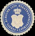 Siegelmarke Fürstl. Schaumb. Lipp. Staatsanwaltschaft W0350357.jpg