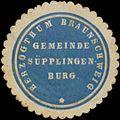 Siegelmarke Gemeinde Süpplingenburg H. Braunschweig W0352118.jpg