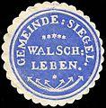 Siegelmarke Gemeinde Siegel Walschleben W0235357.jpg