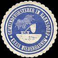 Siegelmarke Gemeindevorsteher in Rahnsdorf - Kreis Niederbarnim W0224337.jpg