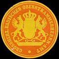 Siegelmarke Grosh. Badisches Oberstkammerherrn-Amt W0350195.jpg