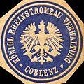 Siegelmarke Königliche Rheinstrombau Verwaltung - Coblenz W0216258.jpg