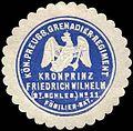 Siegelmarke K. Pr. Grenadier-Regiment Kronprinz Friedrich Wilhelm (2. Schlesisches) No. 11, Füsilier-Bataillon W0285578.jpg