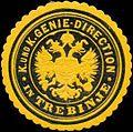 Siegelmarke K. und K. Genie-Direction in Trebinje W0318169.jpg