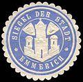 Siegelmarke Siegel der Stadt Emmerich W0234818.jpg