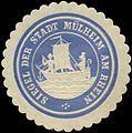 Siegelmarke Siegel der Stadt Mülheim am Rhein W0349313.jpg