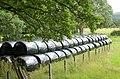 Silage bales, Haystoun - geograph.org.uk - 1420105.jpg