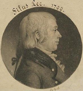Silas Lee American politician