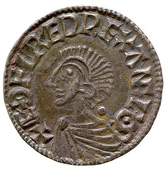 Æthelred the Unready - Silver penny of Aethelred II