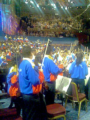 Orquesta Sinfónica Simón Bolívar - Concert in the Royal Albert Hall, London 2007