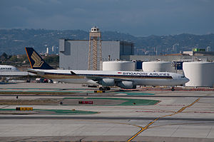 Singapore Airlines Flight 21 - Singapore Airlines Airbus A340-500