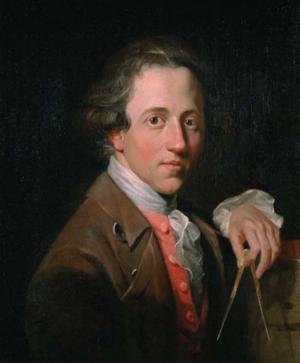 Christopher William Hunneman - Sir John Soane by Christopher William Hunneman in 1776