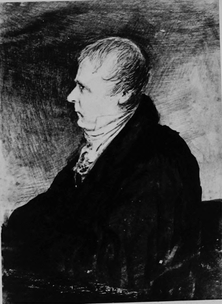 "Sir Walter Scott by Robert Scott Moncrieff. Sir Walter Scott, Bart. of Abbotsford from ""The Scottish Bar Fifty Years Ago"".PNG"