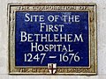 Site of the first Bethlehem Hospital 1247-1676.jpg