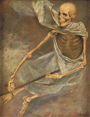 Skelet. Døden uden vinger