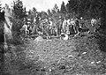Skogplanting ved Byåsen skole (ca. 1910 - 1920) (11116580134).jpg
