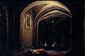 Slapende mannen in een ruimte met verlichte gewelven Rijksmuseum SK-A-798.jpeg