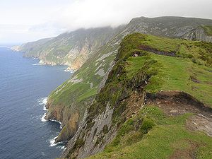 Geography of Ireland - Slieve League in western Banagh