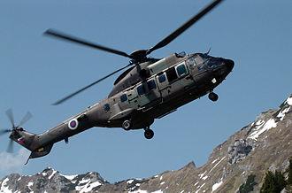 Eurocopter AS532 Cougar - Eurocopter Cougar of the Slovenian Army.