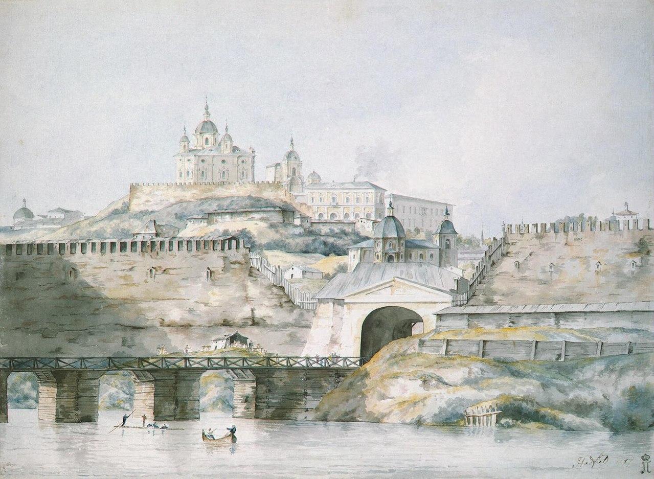 Смоленск, Днепр.  Смаленск, Дняпро (1787) .jpg
