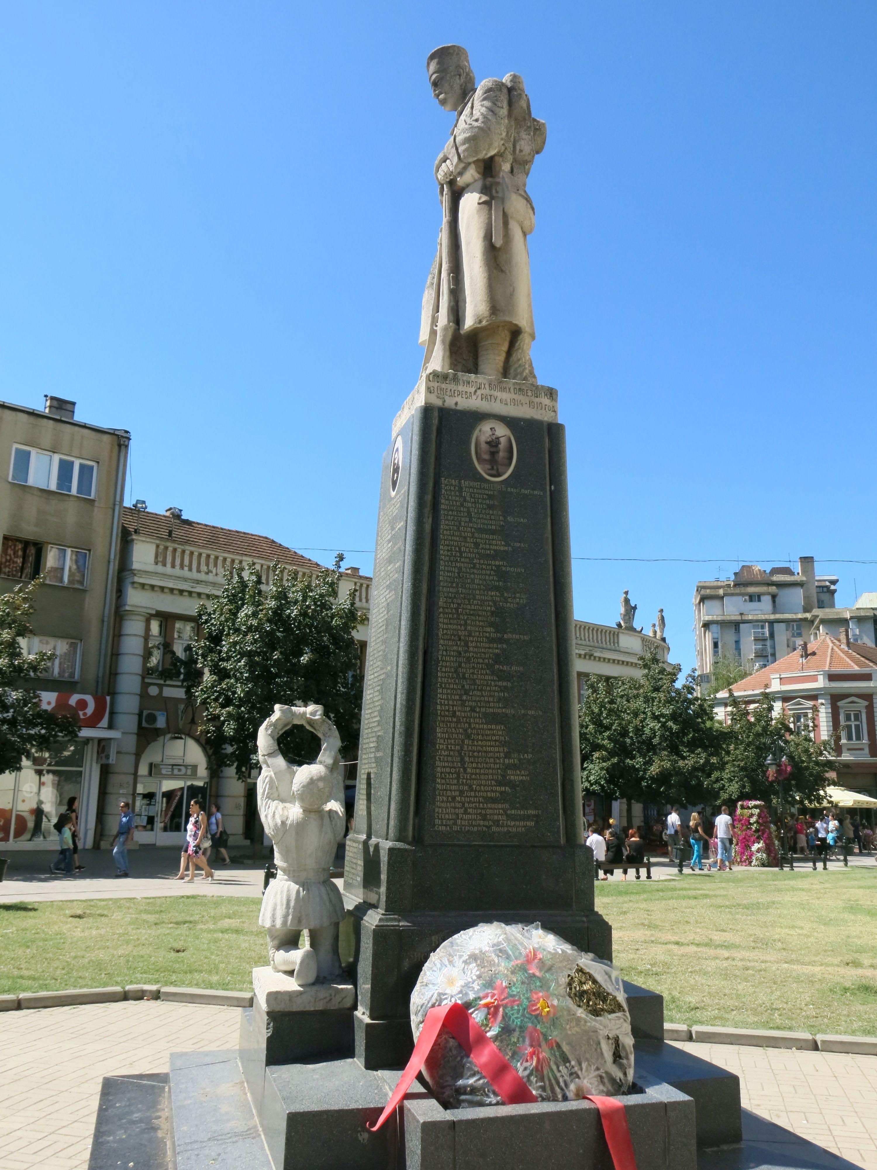 File Smederevo Spomenik Palim Borcima U Prvom Svetskom Ratu 06