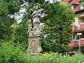 Socha Jana Nepomuckého ve Fryštáku na náměstí Míru - panoramio.jpg