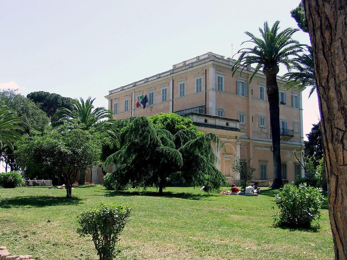 Societ Ef Bf Bd Geografica Italiana Roma Villa Celimontana