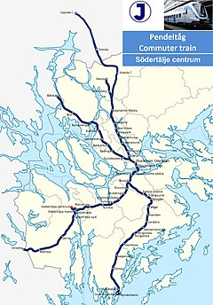 Sodertalje C station map.jpg