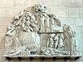 Soissons (02), musée municipal, bas-relief - la descente aux limbes, provenant de l'église Saint-Yved de Braine.jpg