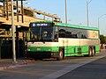 SolTrans SolanoExpress bus at El Cerrito del Norte station, March 2019.JPG