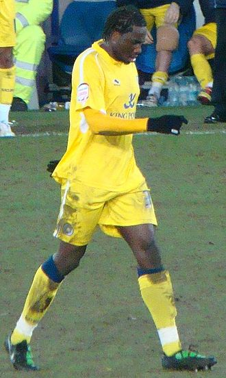 Sol Bamba - Bamba playing for Leicester in 2011