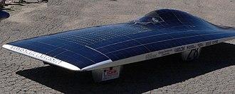 Solar power in Kansas - Solar car developed by Kansas State University