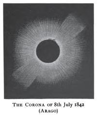 Solar eclipse 1842Jul08-Corona-Arago.png