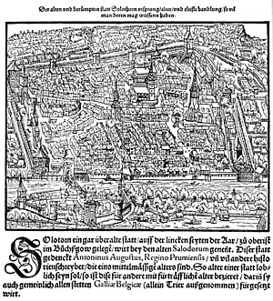Solothurn - Solothurn in 1548