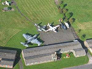 Solway Aviation Museum - Image: Solway Aviation Museum, Carlisle Airport, Cumbria geograph.org.uk 50887